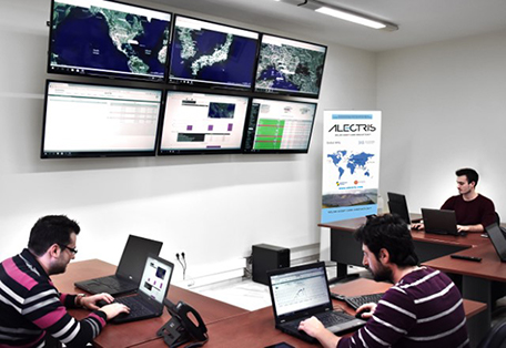 Alectris Solar ERP control room photo