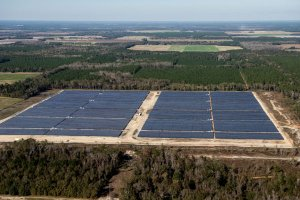 In 2014 Origis Energy announced the completion and dedication of two solar power plants in Georgia, representing the state's second largest solar installations. The two solar power sites, with a combined capacity of 23.5 megawatts (MW)DC, are located in Camilla and Woodbury, Ga.