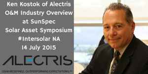 Ken Kostok of Alectris at Intersolar NA