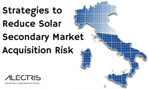 Strategies to Reduce Solar Secondary Acquisition Costs Alectris