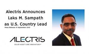 Alectris Announces Laks M. Sampath as U.S. w