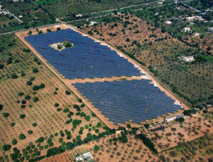 Photo: 3.1 MW Mallorca island ground mount solar PV park to be managed by Optimal Sun, an Alectris market partner.