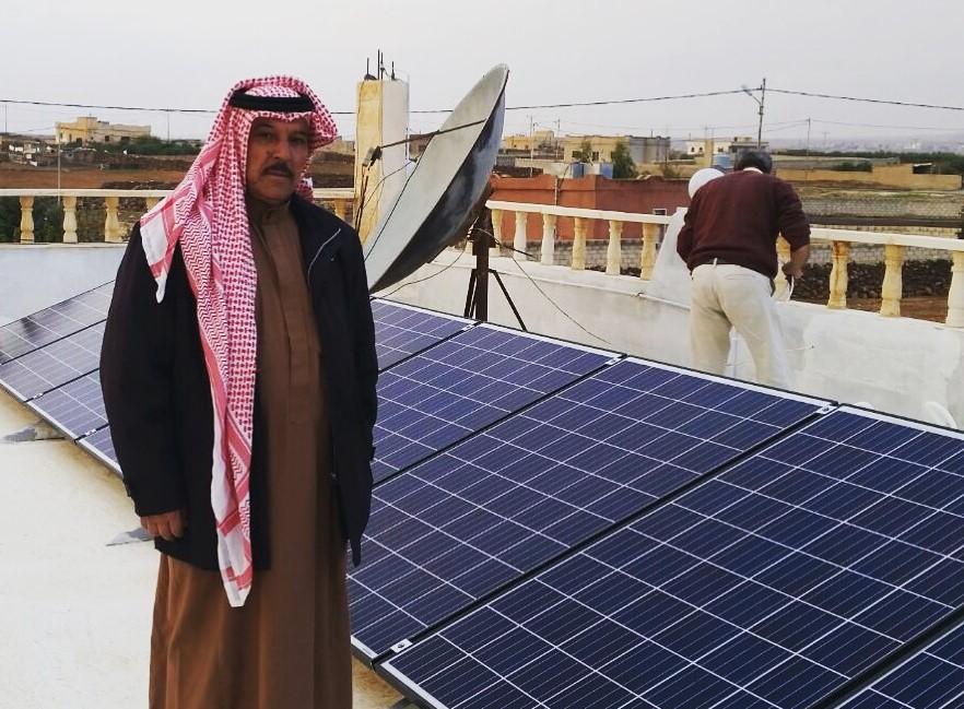 MASE solar in Jordan