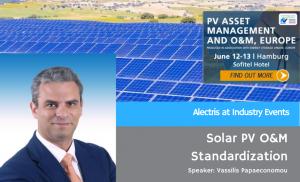 Vassilis Papaeconomou at PV Asset Management event