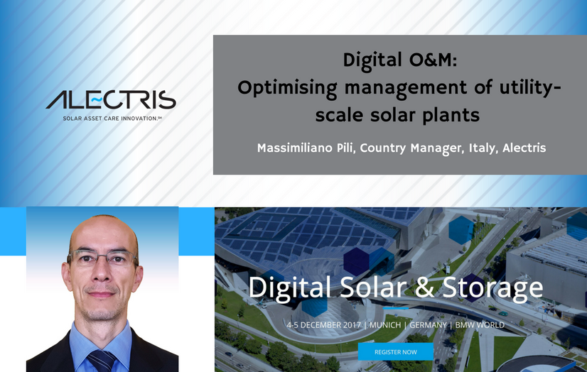 Alectris at Digital Solar & Storage event December 2017
