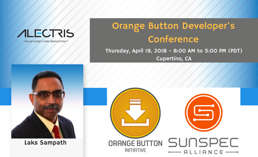 Alectris at Orange Button Developers Conference April 2018