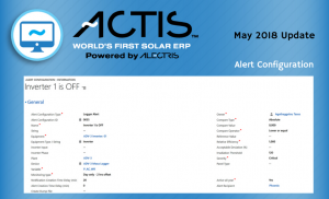 ACTIS World's First Solar ERP May 2018 _ Alectris W