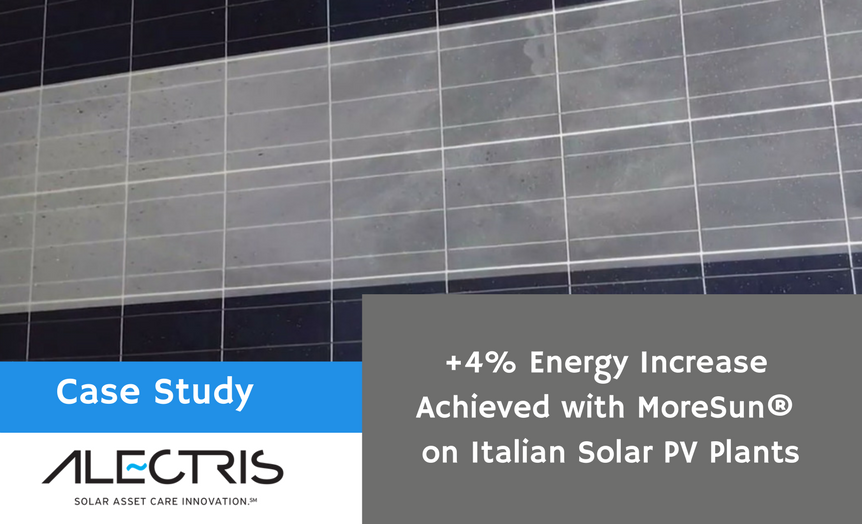 MoreSUN on Italian solar PV plants _ Alectris web