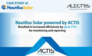 nautilus solar actis erp increased efficiencies solar software