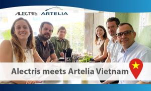 Alectris and Artelia Vietnam February 2020