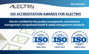 iso certificates alectris